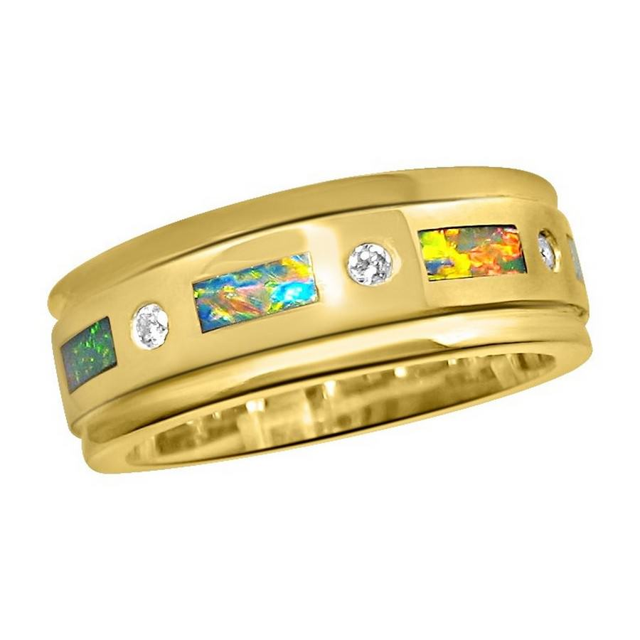 Mens Opal Rings Rings Jewelry