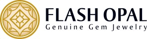 FlashOpal Genuine Gem Jewelry - Logo