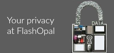 FlashOpal privacy statement