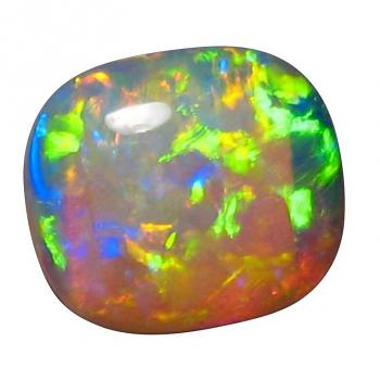 Crystal Opal Loose Square Oval Ring Stone