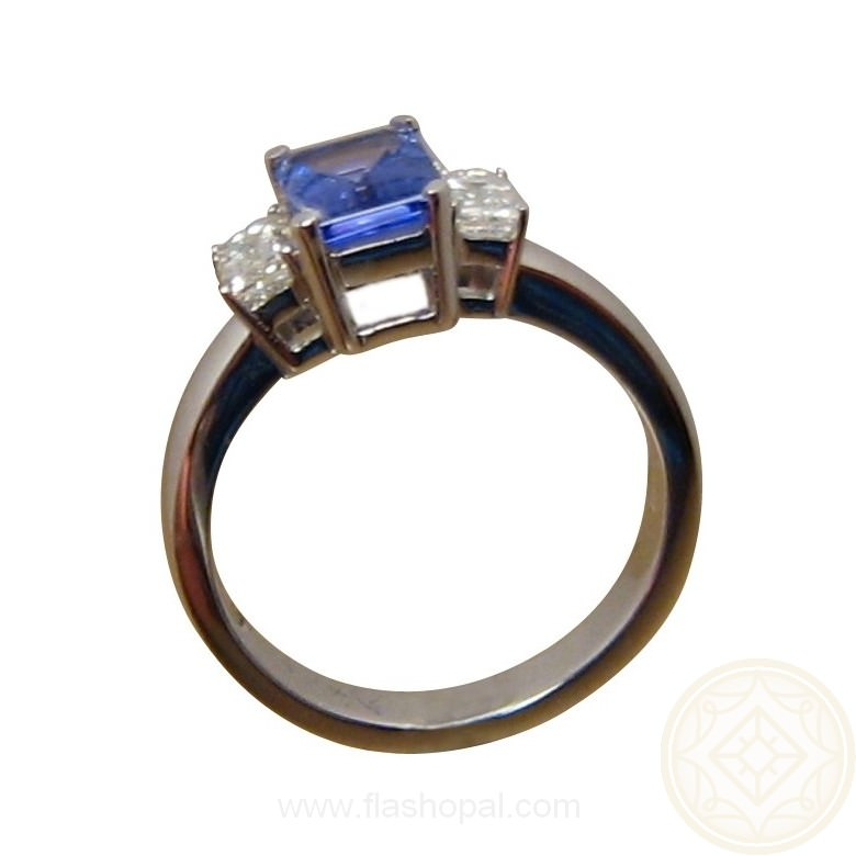 Tanzanite Diamond Ring Made to order