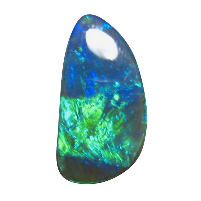 8 25 Carat Black Opal Blue Green Black Opals Flashopal
