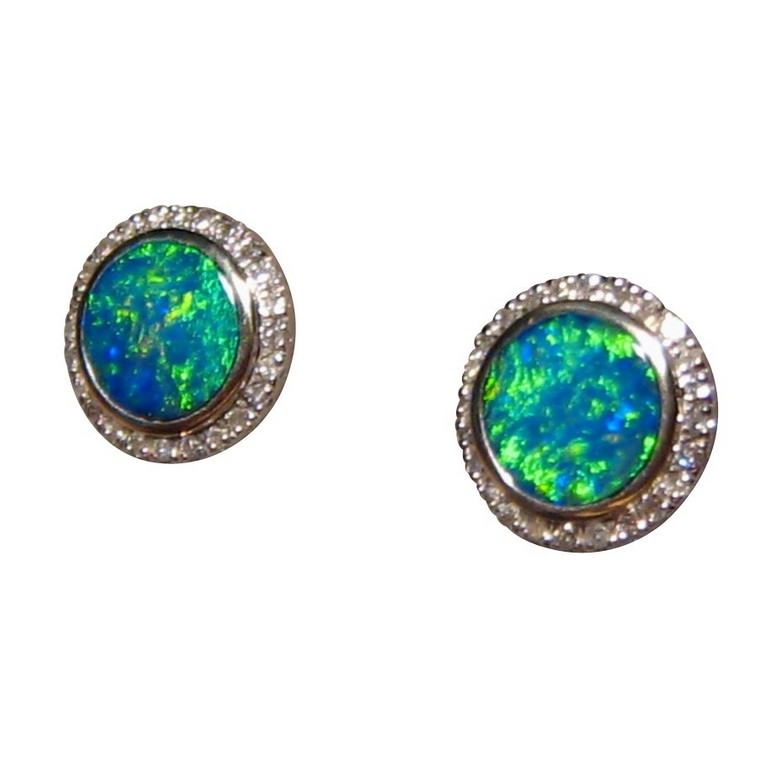 ab to er earrings b tota green