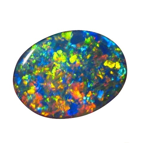 cts stone l semi cut australian gemstone opal product solid opals img black ridge