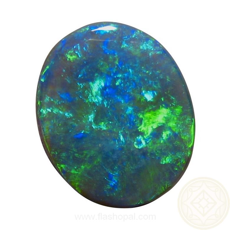 5 75 Carat Black Opal Blue Green Solid Black Opals