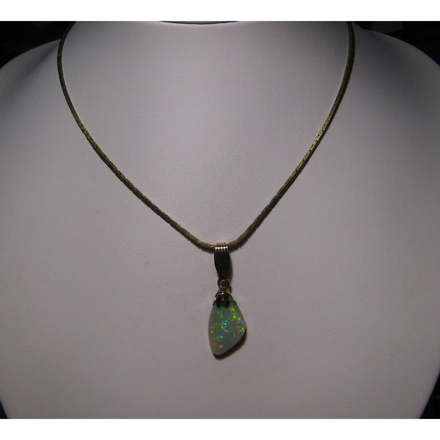 jewelry necklace m black carats s rau opal estate antiques