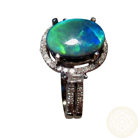 black opal engagement rings jewelry black opal engagement rings jewelry - Black Opal Wedding Rings