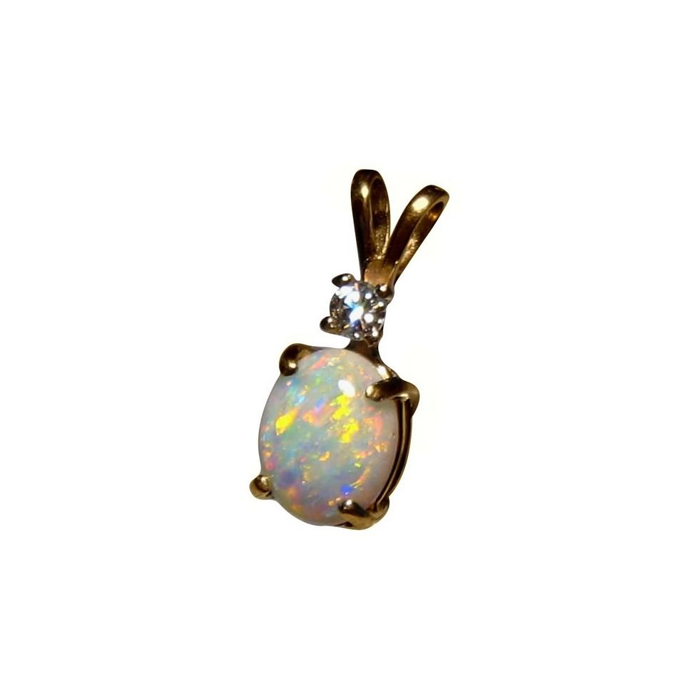 pendant p opal width white v necklace gold plated fire peermont