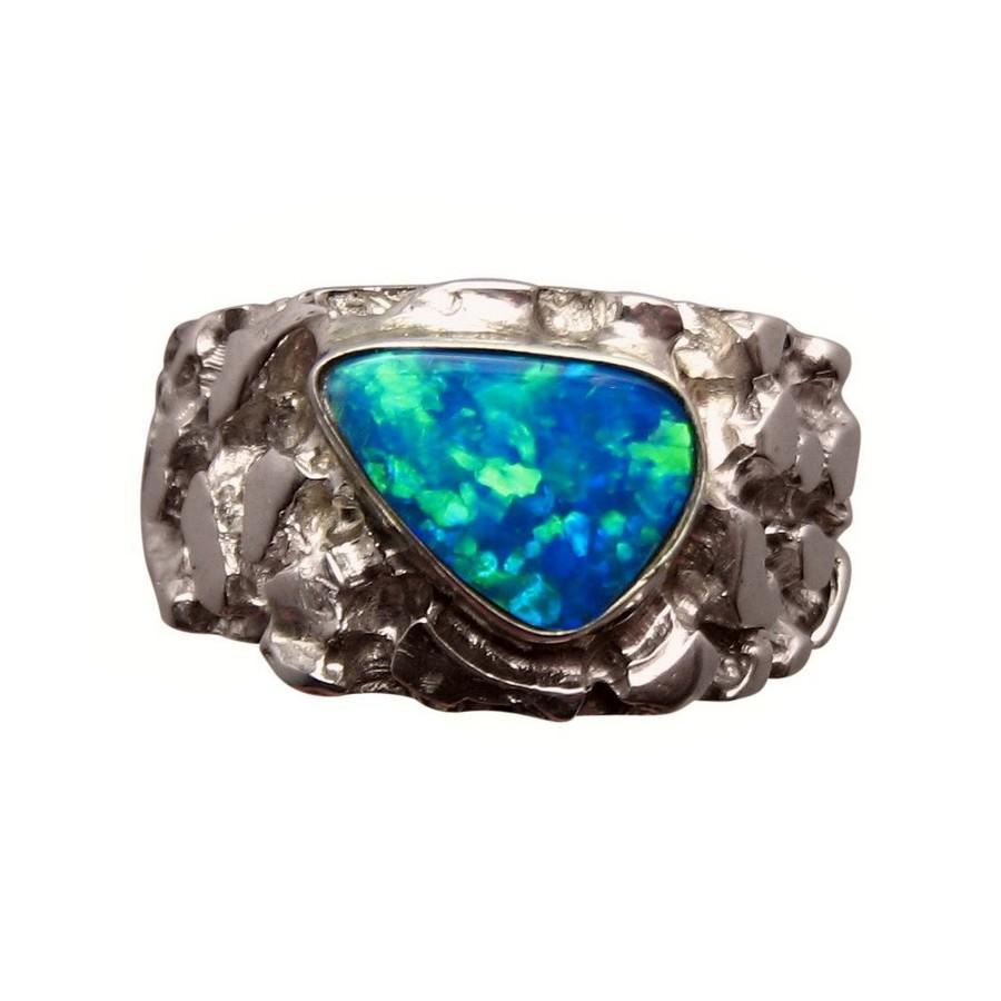 Opal Rings for Him FlashOpal