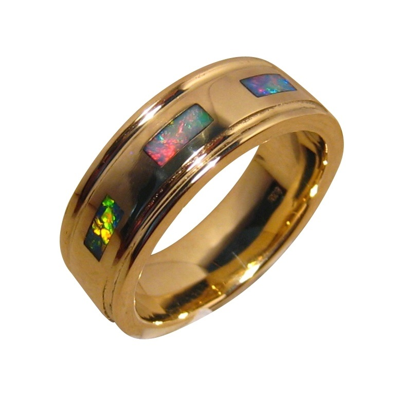 rings in color band gold mens from wholesale new engagement zirconia megrezen cubic bands item stone men fashion ring with