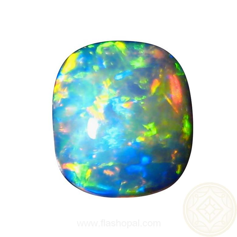 Gem Crystal Opal Unset Square Oval Natural Opal Stones