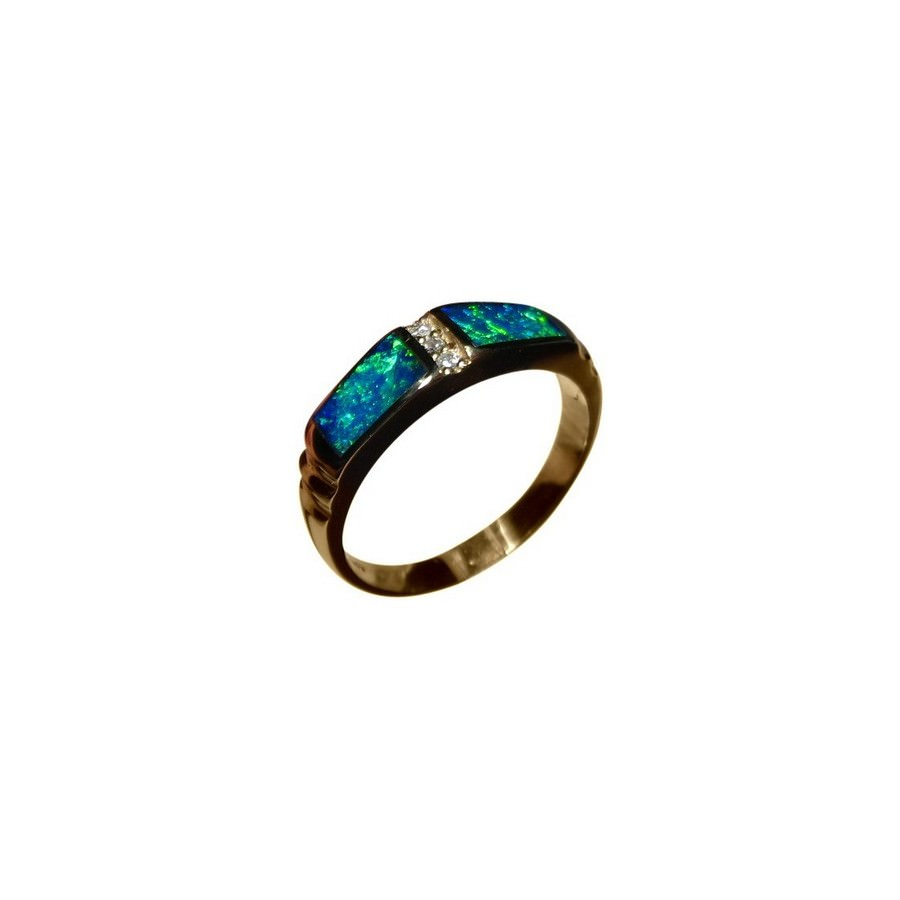 opal wedding band or promise ring - Opal Wedding Ring