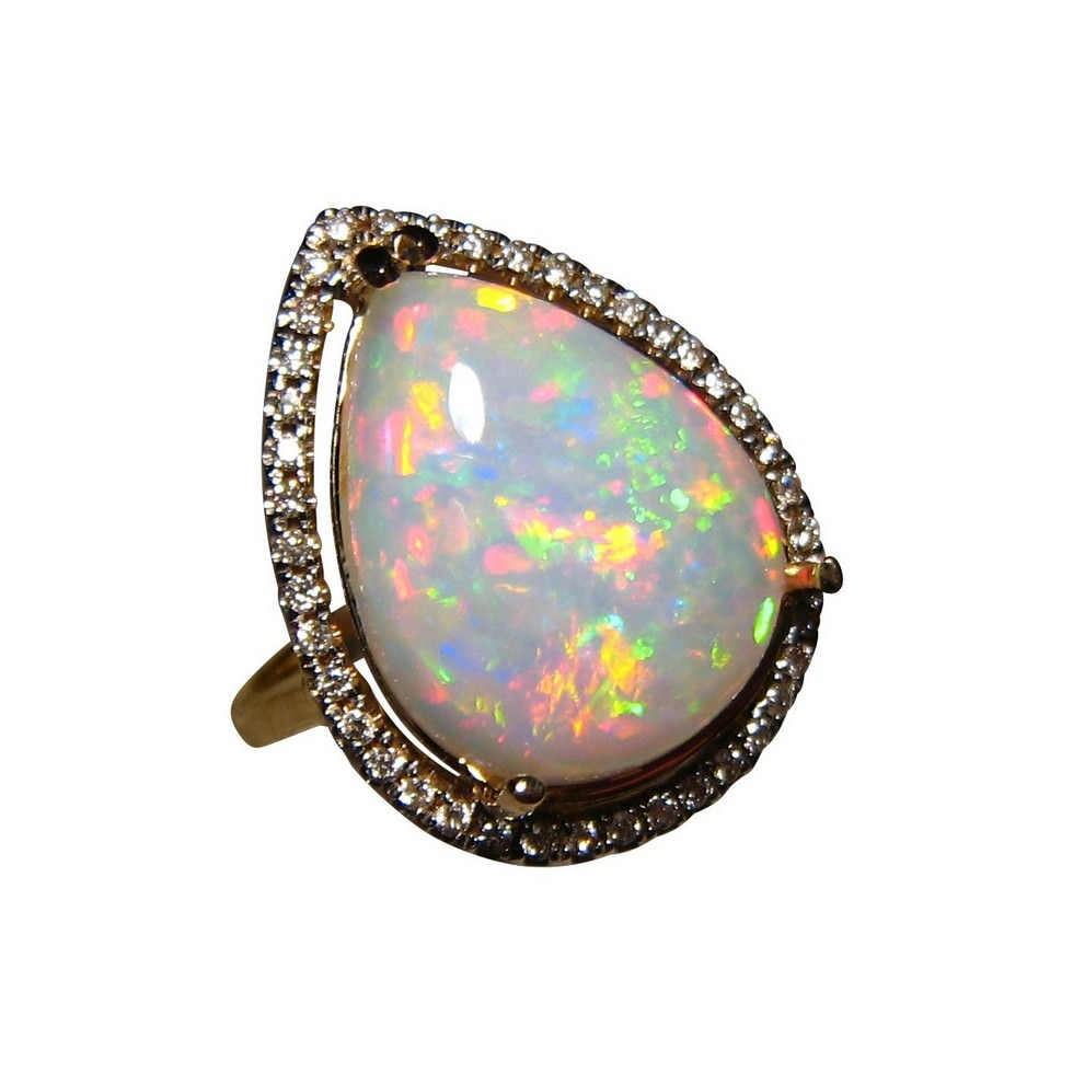 Opal And Diamond Rings For Sale