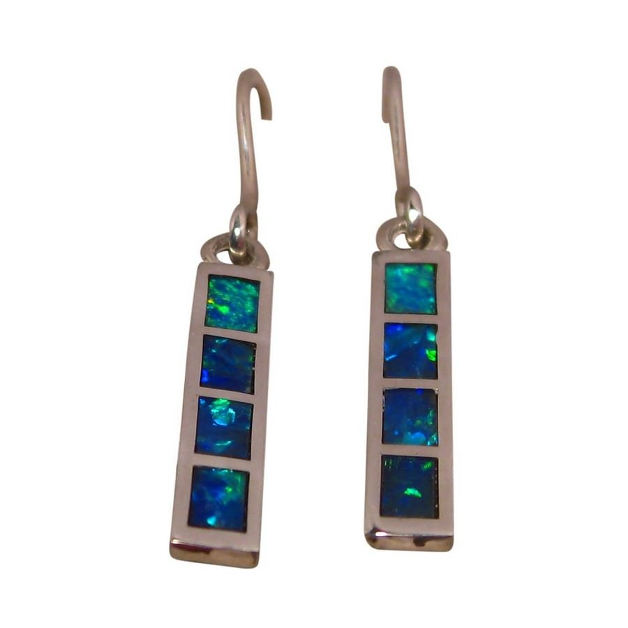 signature collections turquoise limor versatile real opal enlarged earrings rina