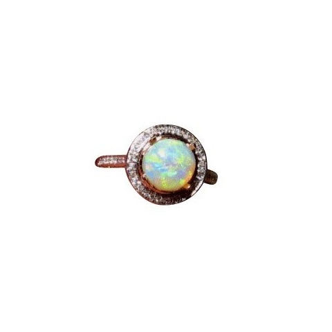 leaves gold opal ring engagement white merav copy doron product rings