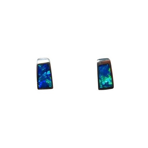 beauty en gems sleeping evine vogue stud turquoise product earrings genuine