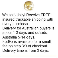 Shop at flashopal.com and get FREE shipping with insurance and tracking with every purchase