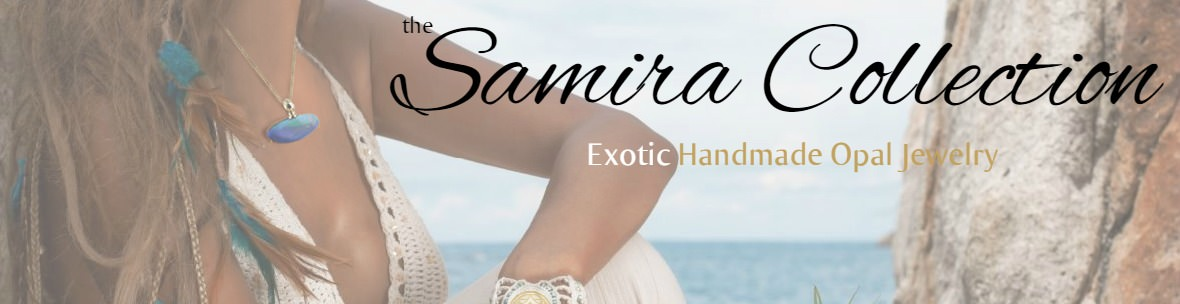 The Samira collection - One of a kind opal jewelry crafted by hand